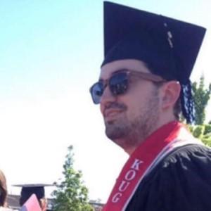 Raymond West graduating from Washington State University Vancouver.